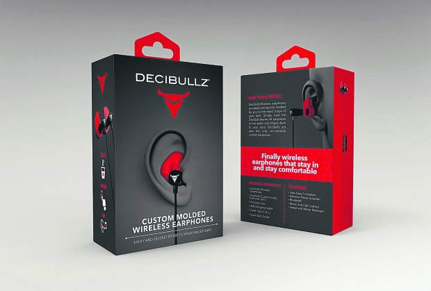 Decibullz Wireless Earphones, $119.99.