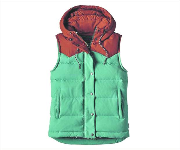 Patagonia Bivy Hooded Vest, women's, $179.