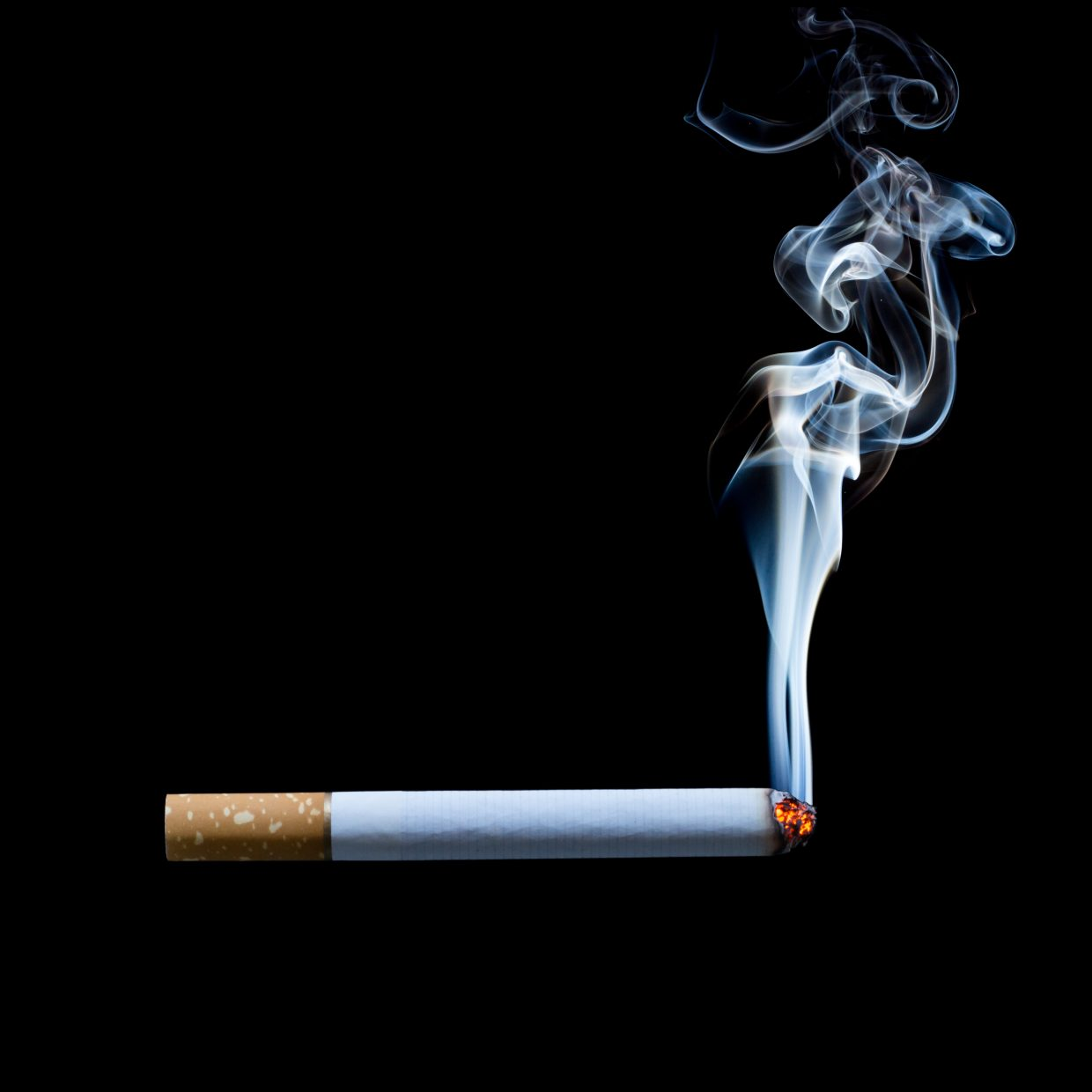 the deadly habit of smoking Anti-smoking group finds streaming giant's shows feature twice as many cigarettes and 'tobacco incidents' as traditional tv channels.
