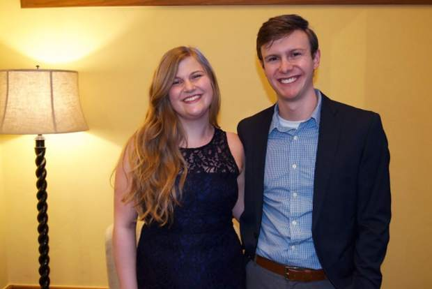 Gina and Matthew Parrish attend the Vail Symposium's celebration of 45 years of convening locally and thinking globally.