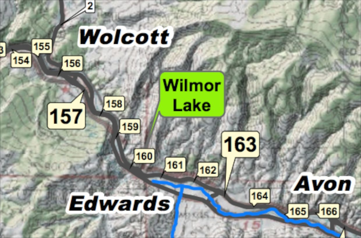 Us Highway Map With Mile Markers Traffic incident on U.S. Highway 6 near Wolcott | VailDaily.com