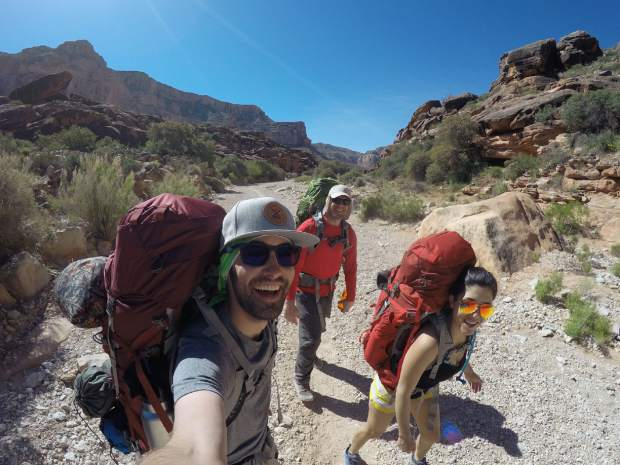 For our first backpacking trip, we faired pretty well, but it was definitely a learning experience. It helps to know that there's water and bathrooms available at the campgrounds.