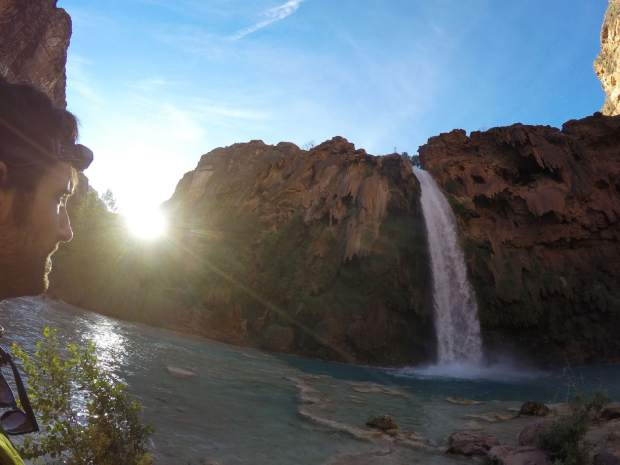 Havasu Falls is great spot to spend a day since it's so close to the campsites, but getting there for sunrise ensures a peaceful, tranquil experience before everyone gets there.
