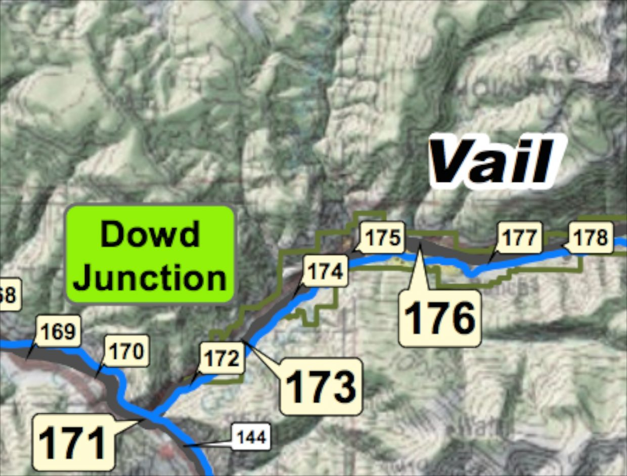 Breaking Eastbound I Over Vail Pass Open Vail No Longer On - Us map interstate 70