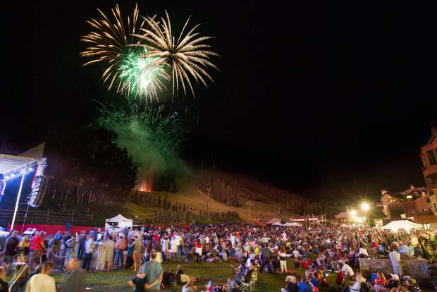Fireworks Schedules For Vail Avon Beaver Creek And Eagle