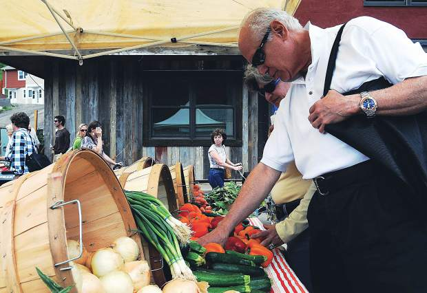 The Vail Farmers' Market & Art Show is now in its 17th year and attracts about 16,000 people each Sunday.