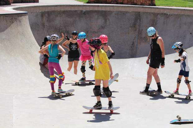 Duchess Ride is cultivating tenacity, camaraderie and creativity in young girls through action sports like snowboarding and skateboarding. On July 10-13, the girls of Duchess Ride are hosting a Sk8 Intensive Camp for girls 10-14 years old, of any skating ability. The all-girls skateboard camp will use creative activities — on and off concrete — to build confidence in the group. Cost is $99. The four-day camp goes from 1 to 4 p.m. each day, and equipment is available. For more information, visit www.duchessride.org. The women leading Duchess Ride — Claire, Carly and Jaime — are spreading the message that dreams are possible, but they don't just happen.