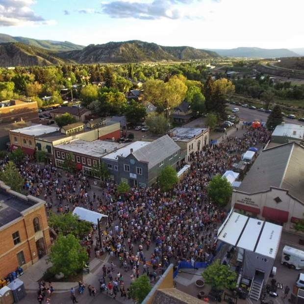 The Bonfire Block Party crowd will fill the streets of Eagle on Saturday, June 3, for live music beginning at 3 p.m.