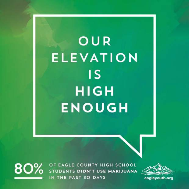 Our Elevation Is High Enough Local Youth Promote Positive - What is our elevation