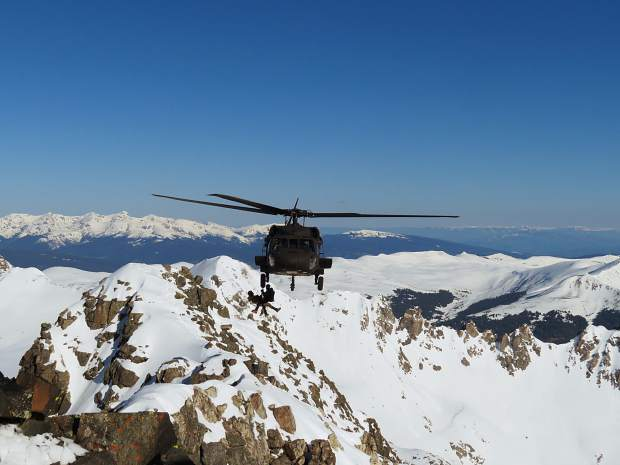 The rescue of two climbers from California on Quandary Peak took an overnight effort for the Summit County Rescue Group, which received assistance from the Army National Guard and Mountain Rescue Aspen. The two men escaped with only sunburns and minor frostbite to their feet.