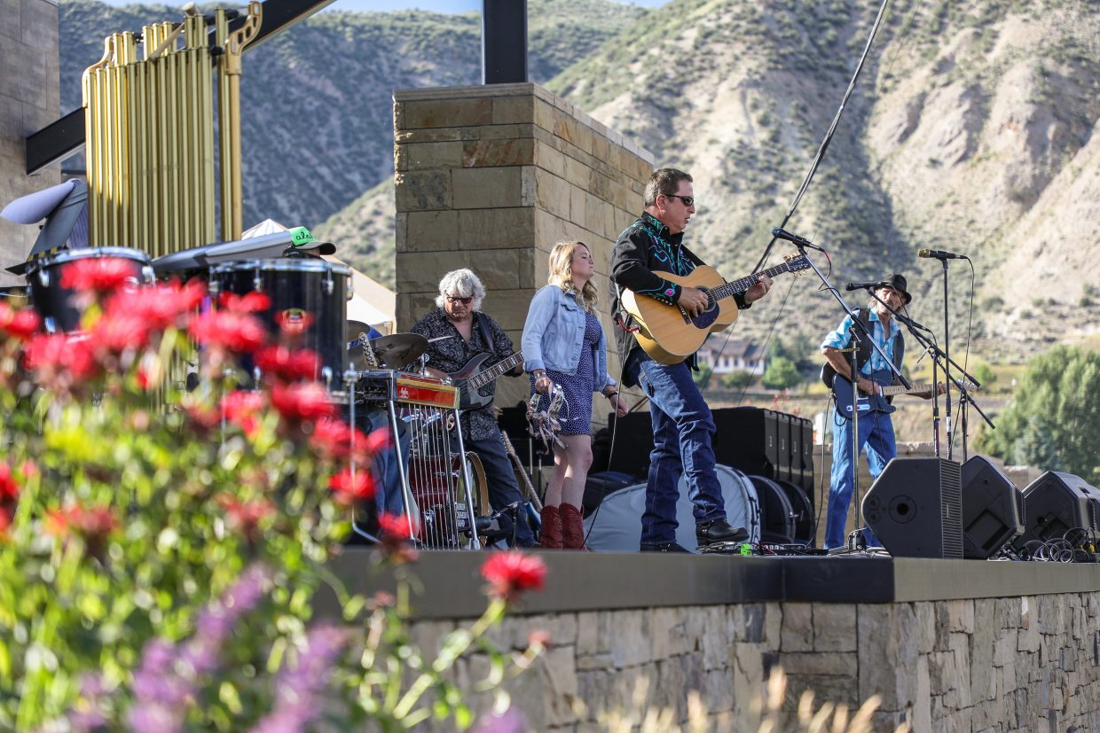 Lauren Michaels Band performs during the Westin Salute to the USA Monday, July 3, 2017, at Nottingham Park in Avon. Colorado Pops Orchestra closed out the night for event's live music