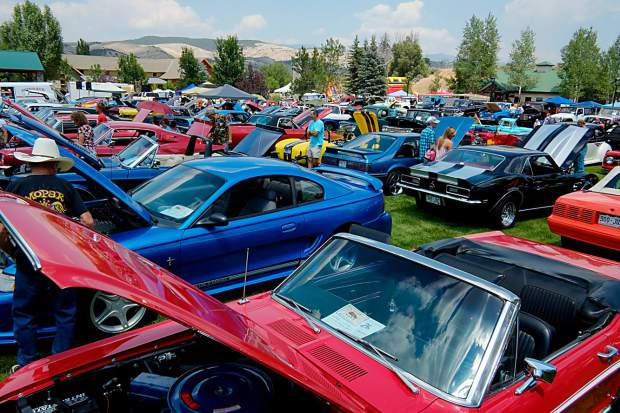 The Gypsum Daze classic car show begins at 11 a.m. on Saturday, July 15, and is open to all classic cars, pickups, off-road vehicles, antiques, street rods, muscle cars, racers and toys.