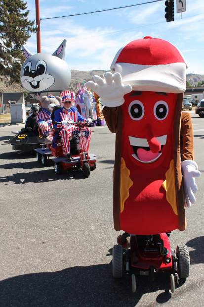 The bubbly hot dog from Mechanical Express is a crowd favorite during the Gypsum Daze parade. The parade will march down Valley Road at 10 a.m. Saturday, July 15.