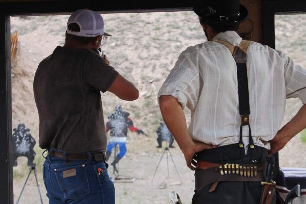 Free shooting and lunch will be provide beginning at noon Saturday, July 15, at the Gypsum Shooting Sports Park during Gypsum Daze.
