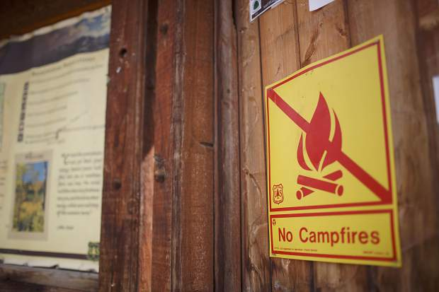 Fire near Breckenridge caused by humans; 2 hikers wanted