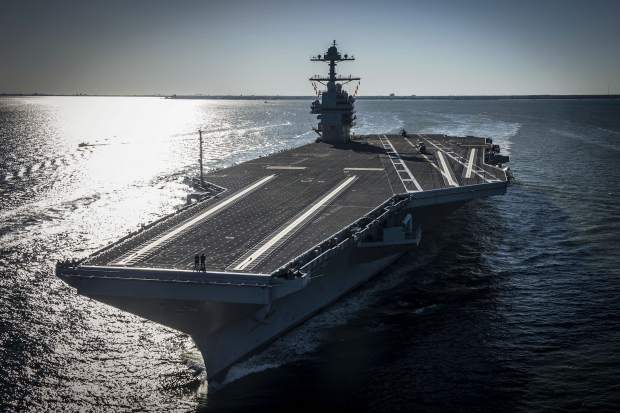 The future USS Gerald R. Fordis the first new U.S. aircraft carrier design in 40 years.