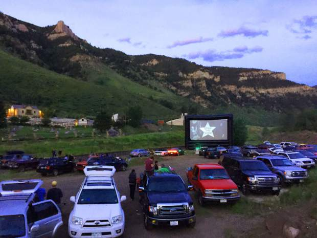 The Blue Starlite Drive-In movie theater in Minturn has a special showing of