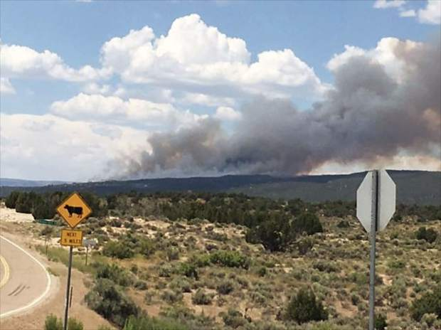Wildfires now  consuming more than 33000 acres across Colorado