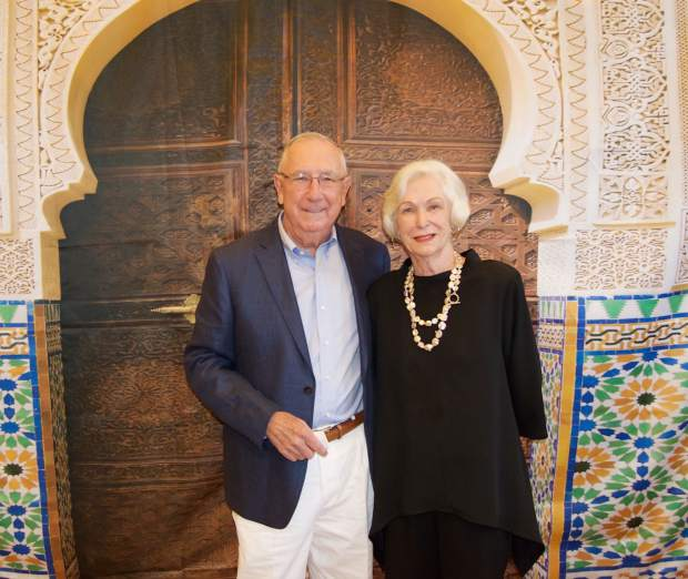 Bob and Helen Howard were the honorees at the Casablanca Nights Gala in support of the Edwards Interfaith Chapel and Community. The Howards were instrumental in founding the chapel, which is now used by man groups.
