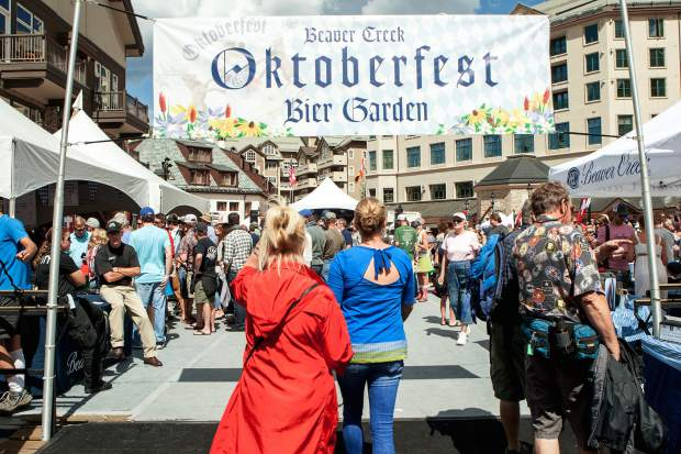 Beaver Creek Oktoberfest takes place Sept. 2-3 during a busy Labor Day Weekend across the Vail Valley.