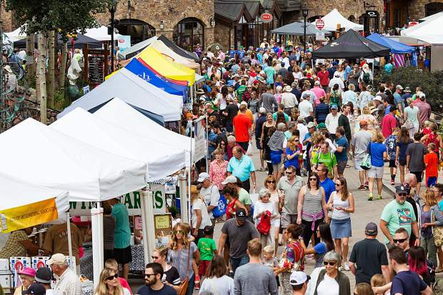 The Vail Farmers' Market & Art Show runs from 10 a.m. to 3:30 p.m. every Sunday on East Meadow Drive in Vail Village. Admission is free. With 135 tents and 40 food vendors, there's something for everyone at the weekly market, taking place through Oct. 1.