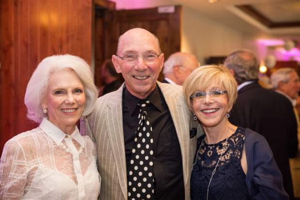 Marilyn Augur with Howard and Cathy Stone.