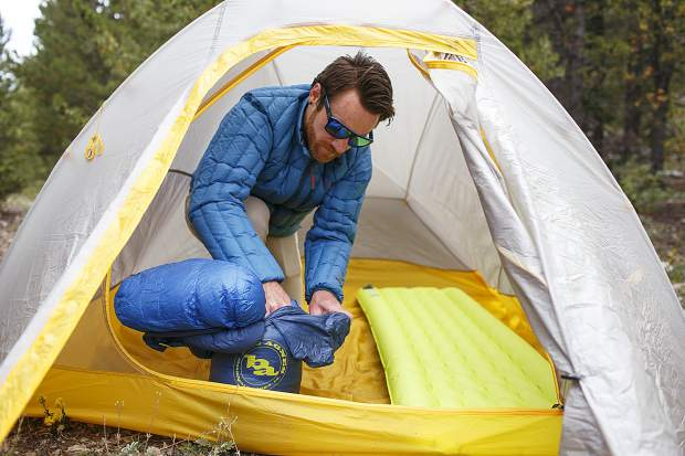 Hugh ... & High Gear: Field review of Big Agnes UL tent pad and sleeping bag ...