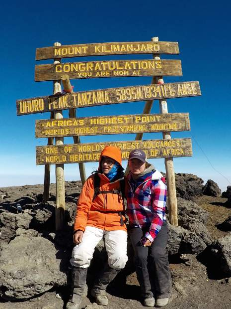 Vail's Dr. Fred Distelhorst is now the oldest person to summit Kilimanjaro  | VailDaily.com