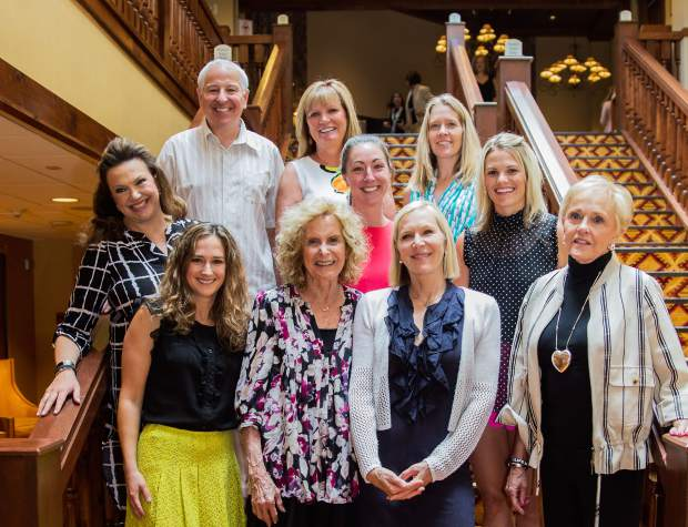 The Celebration of Life Luncheon is made possible by the committee of volunteers who bring it all together.