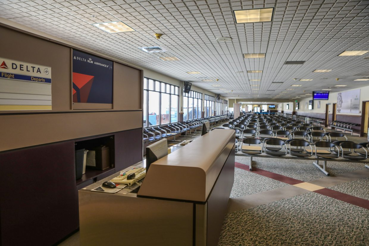 The inside of the terminal to be redone at the Eagle County Airport Monday, Sept. 11, in Gypsum.