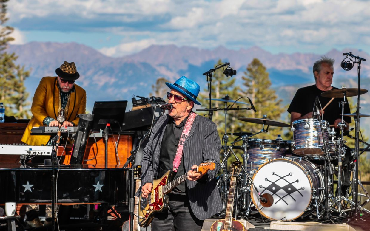 Elvis Costello and the Imposters perform for the inaugeral Hike to the Mic Saturday, Sept. 16, at Spruce Saddle on Beaver Creek Mountain. Elephant Revival was the opener, with music in the village concluding the day of music.