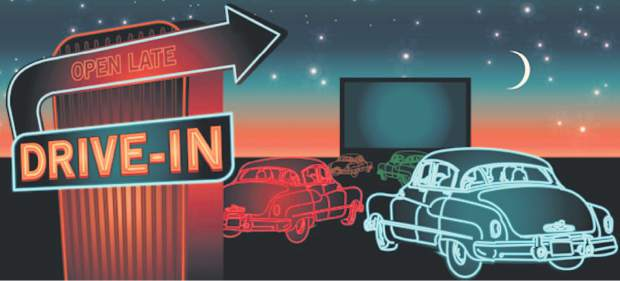 Image result for drive in movies