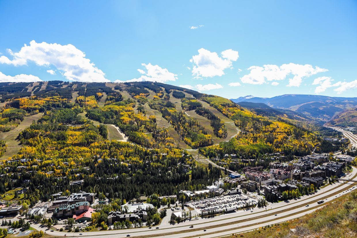 Fall colors in Vail.