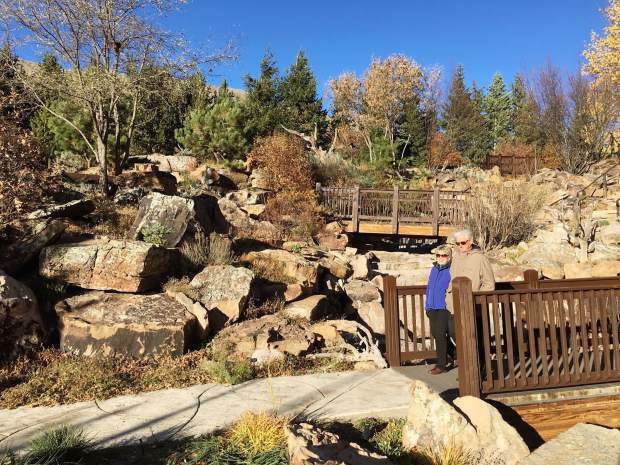 Nancy Alexander And David Staat Enjoy A Stroll Through Betty Ford Alpine  Gardens On A Beautiful Autumn Day In Vail.