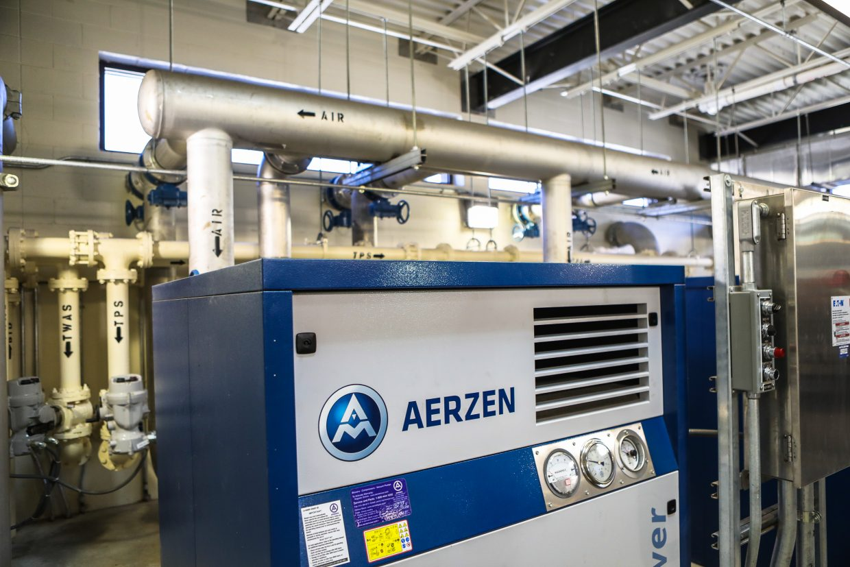 New equipment in the Eagle River Water and Sanitation water treatment facility Tuesday, Sept. 26, in Edwards. The facility in Avon is scheduled next for a $28 million renovation within the district.