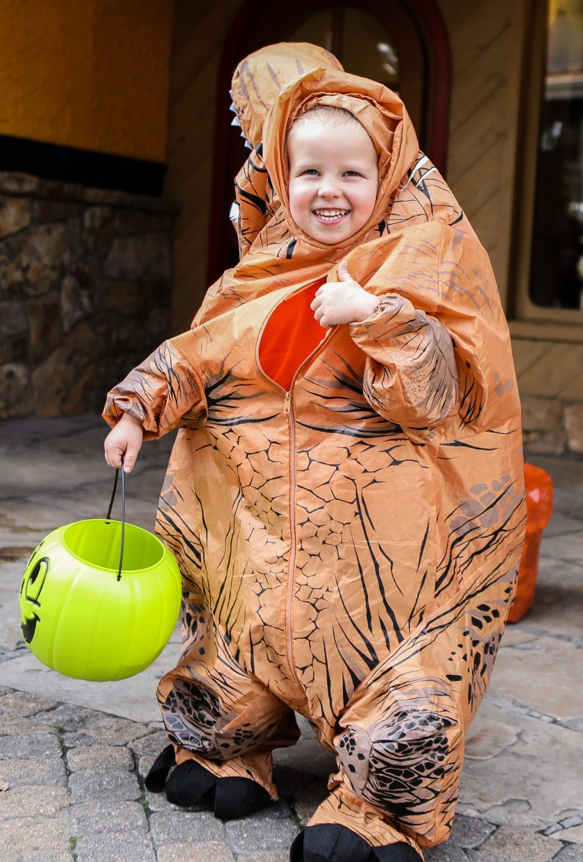 Kids dressed up for the annual Trick or Treat Trot through the Vail Recreation District Tuesday, Oct. 31, in Vail Village.