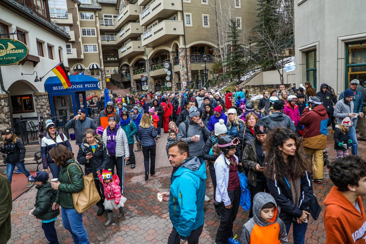Crowds in the thousands turned up for the annual World's Best Chocolate Chip Cookie Competition Wednesday, Nov. 22, in Beaver Creek. The annual competition draws up creative chocolate cookie recipes.