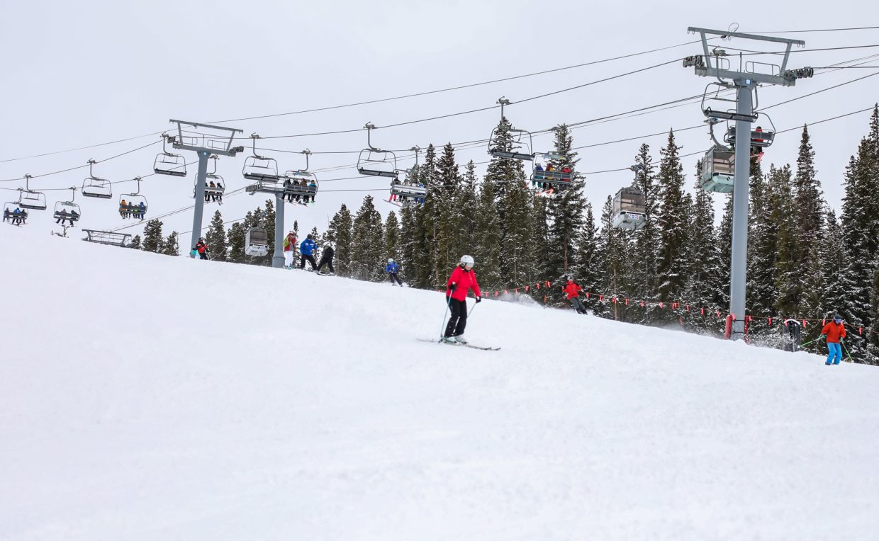 Vail Mountain is open for the 2017-2018 season.