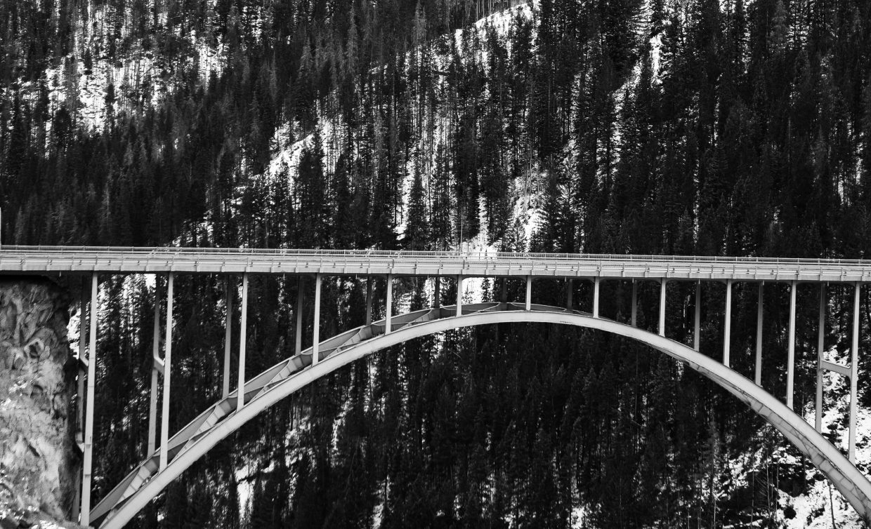 Bridge by Red Cliff.
