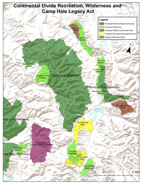 Continental Divide On Us Map.Colorado Legislators Introduce 100 000 Acre Wilderness Bill For