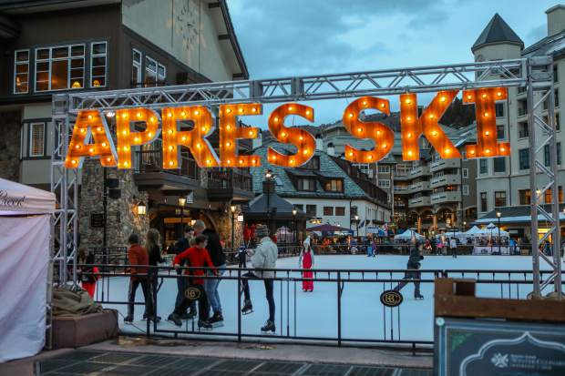 Beaver Creek offers ice skating, as well as live music, during Culinary Weekend on Saturday, Jan. 20, in Beaver Creek. The village offered live music, drinks and socializing during the event
