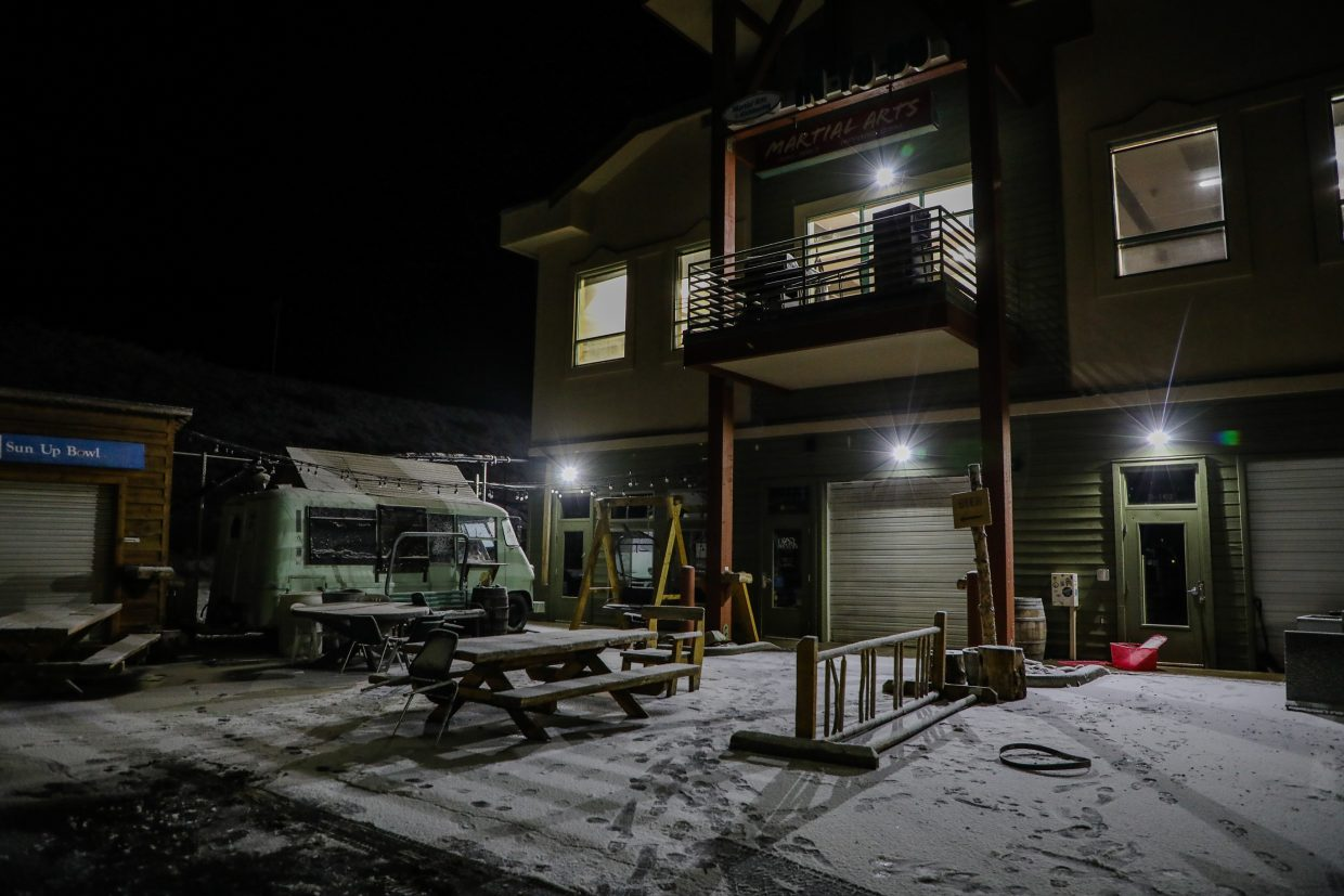 Crazy Mountain Brewery sits idle on Wednesday, Jan. 10, in Edwards. The brewery shut its taproom down  on Tuesday, Jan. 9, in Edwards.