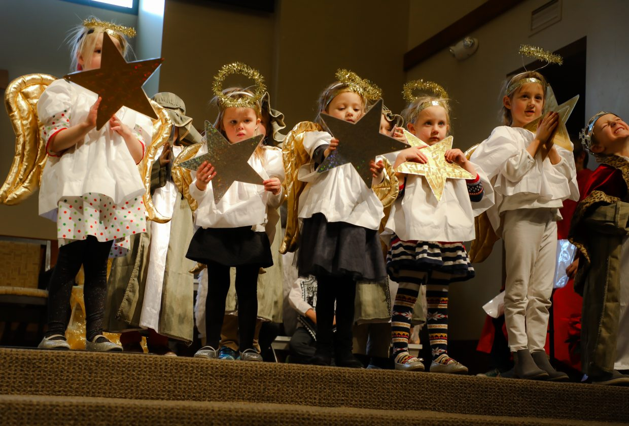 Kids perform in the annual Christmas Pageant  at the Episcopal Church of the Transfiguration of Vail on Sunday, Dec. 24, in Edwards. The annual production features live music and dance all performed by kids.