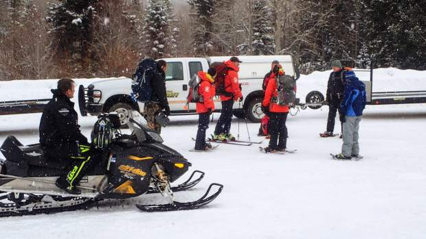 A combined team of 17 Routt County Search and Rescue volunteers and Steamboat Ski Patrol worked together to bring the man back to safety. Surprisingly, he suffered no injuries from the incident.