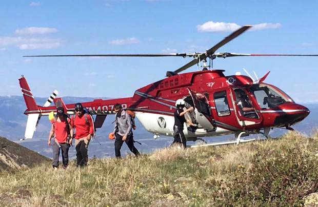 Helicopter support is a big part of many search and rescue operations.