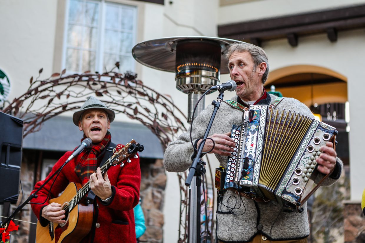 Live music kicked off the 11th annual Holiday Lantern Walk on Friday, Dec. 22, in Vail.