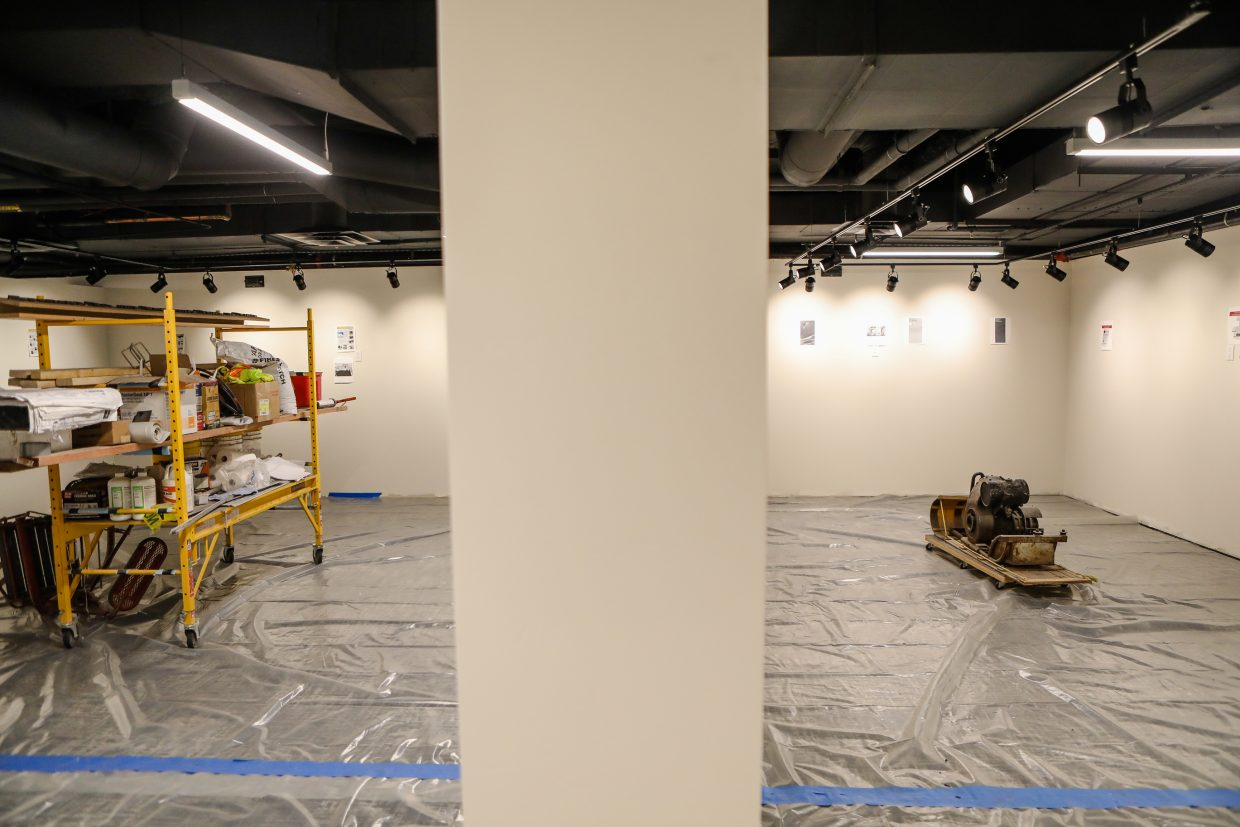 The different spaces for exhibits in the Colorado Ski & Snowboard Museum while it's still being renovated on Tuesday, Jan. 16, in Vail.