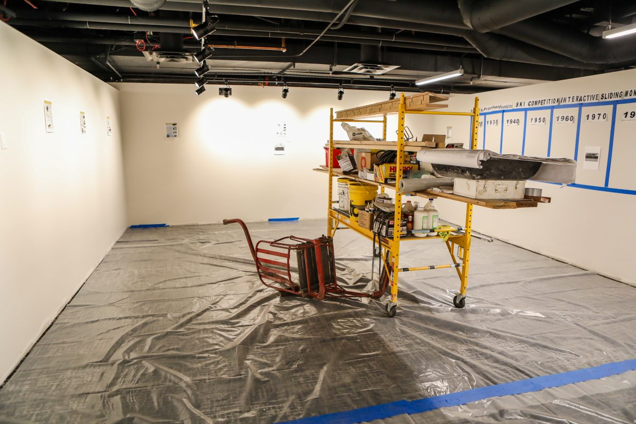 The Colorado Ski & Snowboard Museum while it's still in its remodel process on Tuesday, Jan. 16, in Vail.