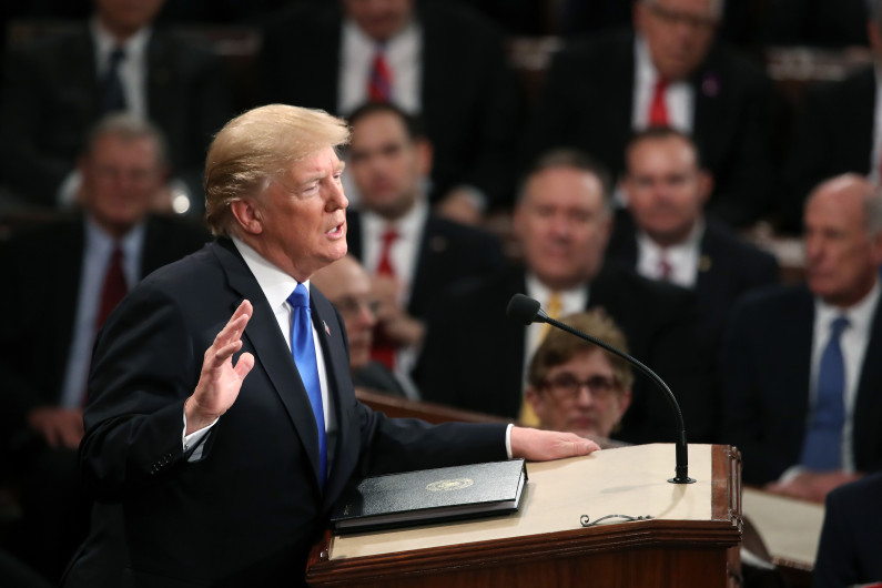 photo - Donald Trump - State of the Union