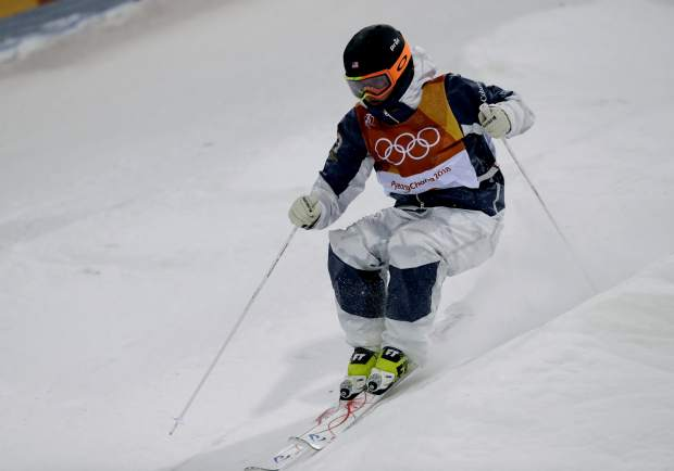 Tess Johnson, of Edwards, was one of the youngest skiers at the 2018 Olympics at just 17 years of age. She made the second final (top 12) in the moguls competition, finishing 12th.